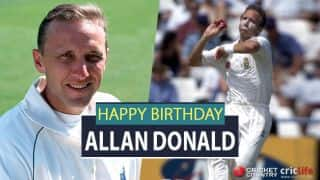 Allan Donald: 22 facts about the 'White Lightening'