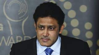 COA chief Vinod rai says Anil Kumble will continue as Indian team's coach till the West Indies series