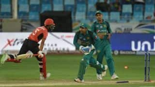 Asia Cup 2018: Sarfraz Ahmed not satisfied with eight-wicket win