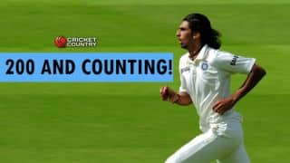 Ishant Sharma takes 200th Test wicket on Day 5 of India vs Sri Lanka 2015, 3rd Test at Colombo (SSC)