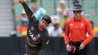 UAE captain Mohammed Naveed, two others suspended by ICC on charges of corruption