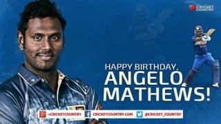 Angelo Mathews turns 28