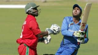 Zimbabwe vs Afghanistan, 2nd ODI at Bulawayo: Usman Ghani on the verge of a century