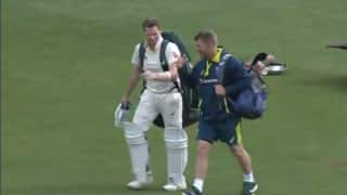 Steve Smith hit nets after getting out cheaply in first innings since concussion