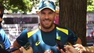 It felt like my finger was going to explode: Aaron Finch