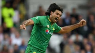 Irfan ruled out; Hasan Ali named replacement for one-off T20I