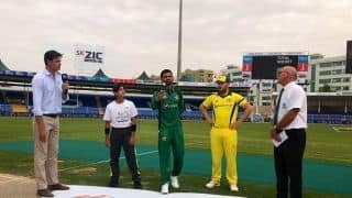 1st ODI: Pakistan elect to bat against Australia in series opener