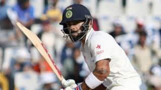 Virat Kohli scores 14th Test half-century in 3rd Test vs England