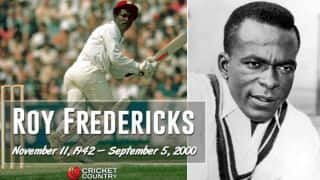 Fredericks: 15 little known facts to know about former WI opening batsman