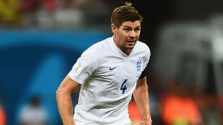 Steven Gerrard confident of England progressing to knockout phase in FIFA World Cup 2014