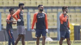 1st ODI, Toss report: Rishabh Pant debuts as India opt to field against West Indies in Guwahati