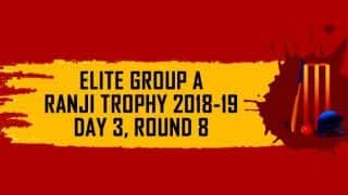 Ranji Trophy 2018-19, Round 8, Elite A, Day 3: Karnataka lead Chhattisgarh by 248 runs