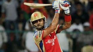Live Cricket Score IPL 2014: Royal Challengers Bangalore (RCB) vs Mumbai Indians (MI) match 5 of IPL 7 at Dubai