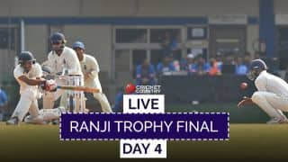 Live Cricket Score: Ranji Trophy Final 2017-18, Delhi vs Vidarbha, Day 4: VID win maiden title
