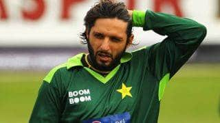 Shahid Afridi urges PCB to be careful on spot-fixing trio's return to Pakistan team