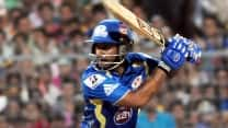 Ambati Rayudu, Kieron Pollard steady Mumbai Indians' chase, amass 67/3 in 12 overs against Sunrisers Hyderabad, IPL 2014