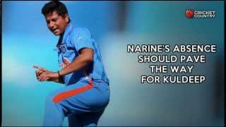 Sunil Narine's absence should pave the way for Kuldeep Yadav in Kolkata Knight Riders vs Rajasthan Royals IPL 2015 clash