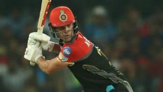 IPL 2017: AB de Villiers registers his highest ever T20 score in a losing cause as Kings XI Punjab thrash Royal Challengers Bangalore