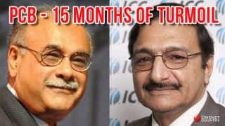 Timeline: Pakistan Cricket Board's 15 months of turmoil