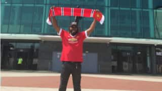 Chris Gayle to join Manchester United?