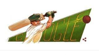 Google doodle honours Don Bradman on 110th birth anniversary