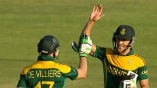 Zimbabwe Triangular Series 2014: Australia vs South Africa, 2nd ODI at Harare Highlights