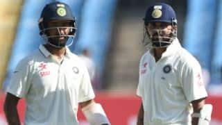 How Cheteshwar Pujara and Murali Vijay defied England on Day 3, 1st Test at Rajkot