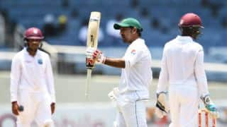 PAK vs WI, 1st Test, Day 4, lunch: Misbah and Sarfraz put visitors ahead