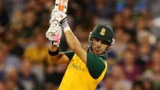 ICC World Cup 2015: JP Duminy and Quinton de Kock ahead of schedule to be fit