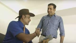 Laxman surprises Shastri with a secret gift