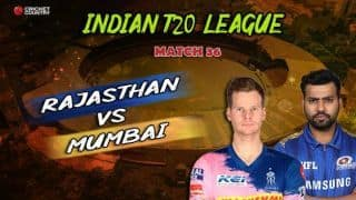 IPL 2019: Live match updates, Rajasthan Royals vs Mumbai Indians: Steve Smith, Riyan Parag guide RR to 5-wicket win