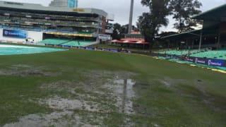 SA vs NZ: Kingsmead's wet outfield abandons play on Day 4