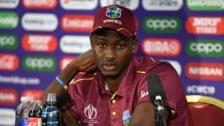 Cricket World Cup 2019 – Really proud of the way the guys fought: Jason Holder