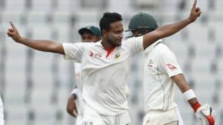 Shakib Al Hasan flies down to Chittagong to support Bangladesh despite injury