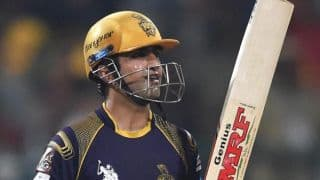 KKR steady in chase of 163 vs Sunrisers Hyderabad