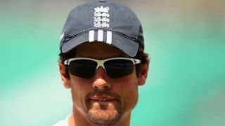 Cook speaks about adjusting to conditions