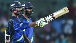 Tuti Patriots thrash Chepauk Super Gillies to win inaugural TNPL 2016 title