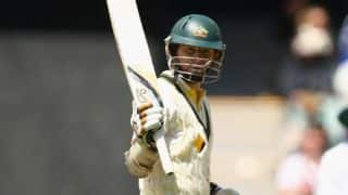 Ashes 2013-14: Chris Rogers's fifty guides Australia to 96/3 at tea on Day 2 of 4th Test at the MCG