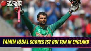 ICC Champions Trophy 2017: Tamim Iqbal scores 9th ODI century, during match 1 vs England