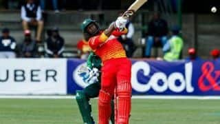 Zimbabwe eliminated despite Solomon Mire heroics against Pakistan