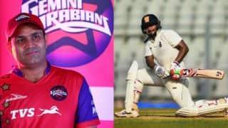 Sehwag applauds Rishabh Pant's aggressive triple hundred in Ranji Trophy