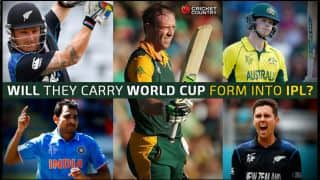 IPL 2015: Top 5 ICC World Cup successes to watch out