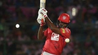 Good to start on a positive note: Chris Gayle