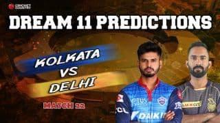 Dream11 Prediction: KKR vs DC Team Best Players to Pick for Today's IPL T20 Match between Kolkata vs Delhi at Eden Gardens 8PM