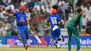 Asia Cup Super 4: Hashmatullah Shahidi, Asghar Afghan lead Afghanistan to 257/6 vs Pakistan