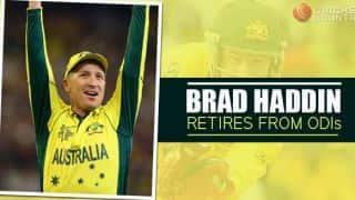 Brad Haddin announces ODI retirement