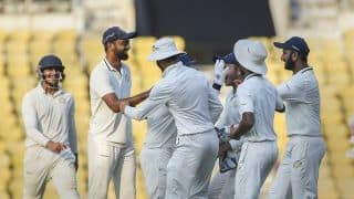 Ranji Trophy final: Saurashtra look to bowl out Vidarbha for 150, says Harvik Desai
