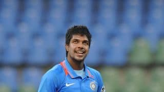 Varun Aaron and Ishwar Pandey will look to impress selectors