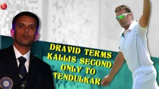 Dravid terms Kallis second only to Tendulkar