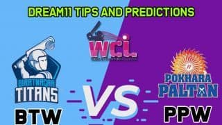 BTW vs PPW Dream11 Team Biratnagar Titans vs Pokhara Paltan, Match 4, Women Champion League T20– Cricket Prediction Tips For Today's Match BTW vs PPW at TU International Cricket Ground, Kirtipur